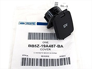 Ford F150 Expedition Edge Fusion 12V Volt Console Power Outlet Cover Cap OEM NEW BB5Z-19A487-BA