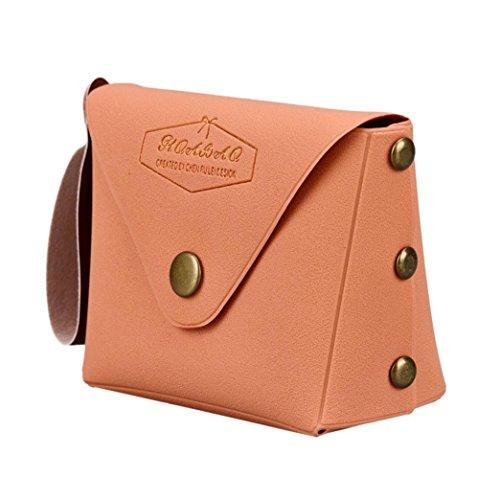 Shoulder Women Fashion Macaron Girls Purse Bag Change Anyada Student Bag Sky Messenger Bow Orange Blue Serie AxCqzUgw