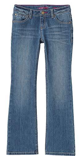 Ladies Lands' End Girls 5 Pocket Bootcut Jeans - Kids Lands Boots End