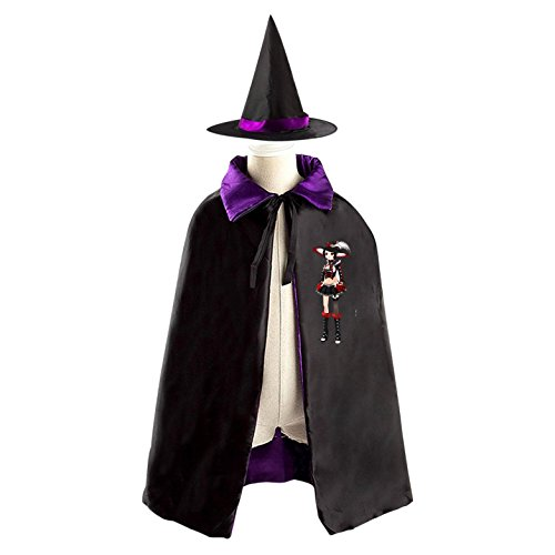 Blockhead Halloween Witches' Coaks Are Suitable For Boys And Girls Reversible Cosplay - Weird Halloween Costumes Homemade
