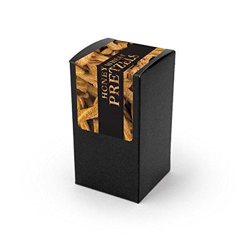 Pretzels, Honey Wheat Braids, Black Box 48ct/1.5oz - Honey Wheat Braid Pretzel