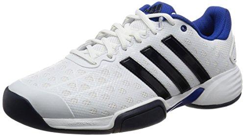 adidas Barricade Club Cpt, Zapatillas de Tenis para Hombre Blanco (Ftwbla / Maruni / Reauni)