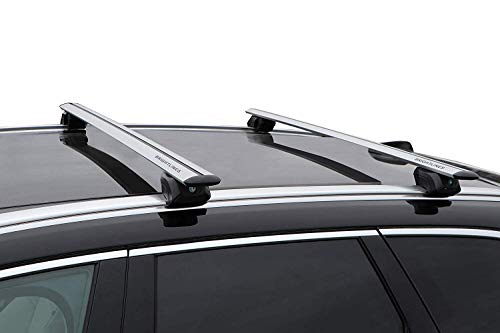BRIGHTLINES Roof Rack Cross Bars Compatible with Mercedes Benz GLC 300 2016 2017 2018 2019 (Benz Mercedes Roof)