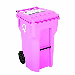 Amazon Com 64 Gallon Pink Color With Breast Cancer
