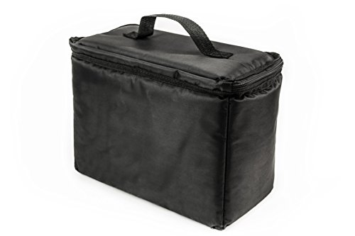AutoExec AETote-08 Black/Grey File Tote with One Cooler and One Hanging File Holder by AutoExec (Image #5)