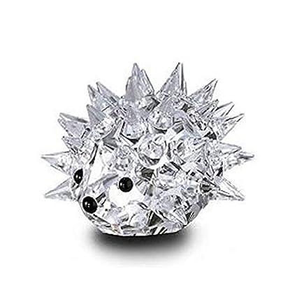 a4d5e8c60 Amazon.com: Swarovski Silver Crystal Large Hedgehog #7630NR70: Home &  Kitchen