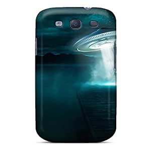 Waterdrop Snap-on Ufo Situation Abduction Human Case For Galaxy S3