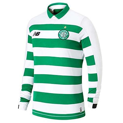 New Balance Celtic Home Mens Short Sleeve Jersey 2019//2020