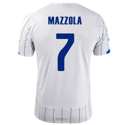 間隔いろいろ要旨PUMA MAZZOLA #7 ITALY AWAY JERSEY WORLD CUP 2014/サッカーユニフォーム イタリア アウェイ用 ワールドカップ2014 背番号7 マッツォーラ