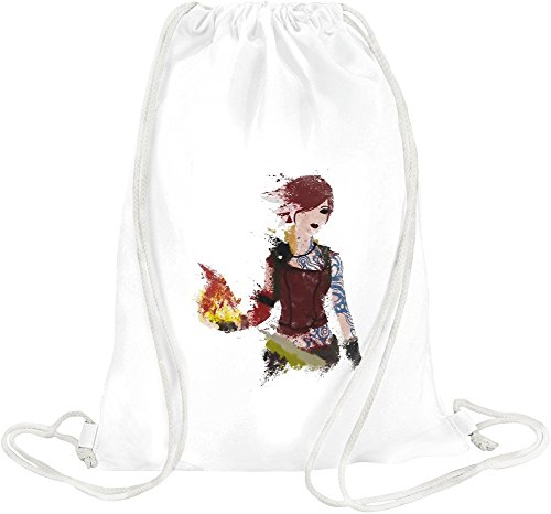 Price comparison product image Fire Girl Drawstring bag