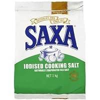 Saxa Iodised Cooking Salt, 1kg
