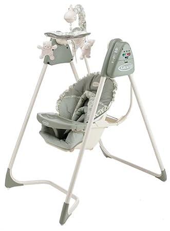 amazon com graco swingomatic 6 speed swing windsor stationary rh amazon com Graco Baby Swing with Mobile Graco Baby Swing with Tray