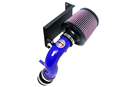 HPS 27-544BL Blue Shortram Air Intake Kit with Heat Shield (Cool Short Ram SRI) ()