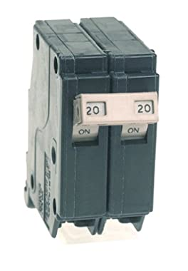Cutler Hammer CH220 Circuit Breaker, 2-Pole 20-Amp would