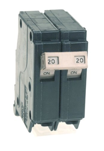 Cutler Hammer CH220 Circuit Breaker, 2-Pole 20-Amp from Connecticut Electric