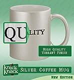#packer - 11oz Silver Coffee Mug Cup