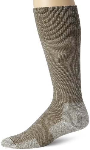 Thorlo Men's Ultra Lite Hiking Over The Calf Sock, Willow Green, X-Large
