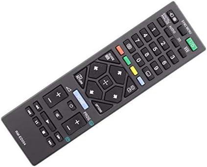 Frompt2y Telecomando di ricambio per televisori LCD TV Sony RM-ED054 [Non richiede configurazione o programmazione – 2 batterie AA incluse]