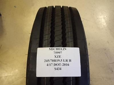 Michelin XZE Commercial Truck Tire - 245/70-19.5