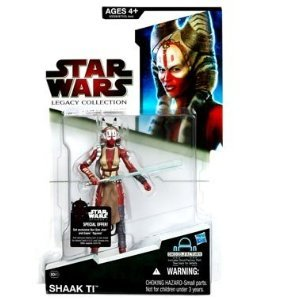Star Wars 2009 Legacy Collection BuildADroid Action Figure BD No. 61 Shaak Ti Force Unleashed