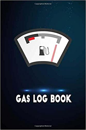 gas log book automobile auto car vehicle record tracker logbook