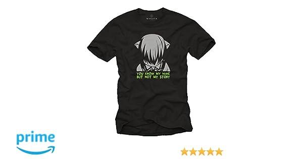 Regalos Manga Comic Anime - Camiseta Elfen Lied Lucy - T-Shirt Hombre