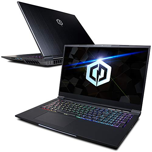 "CyberpowerPC Tracer III Slim VR GT417SVR900 17.3"" Gaming Notebook (Intel i7-9750H, 16GB DDR4, NVIDIA GeForce RTX 2080 Max-Q Design 8GB, 2TB NVMe SSD, 802.11AC Wifi+Bt, RGB Mechanical KB & Win 10 Home)"