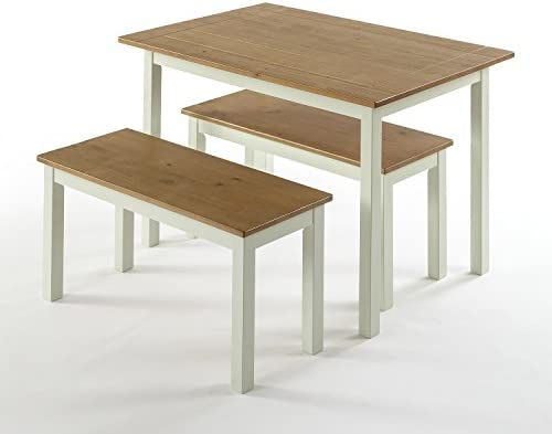 Zinus Farmhouse Dining Table Benches product image