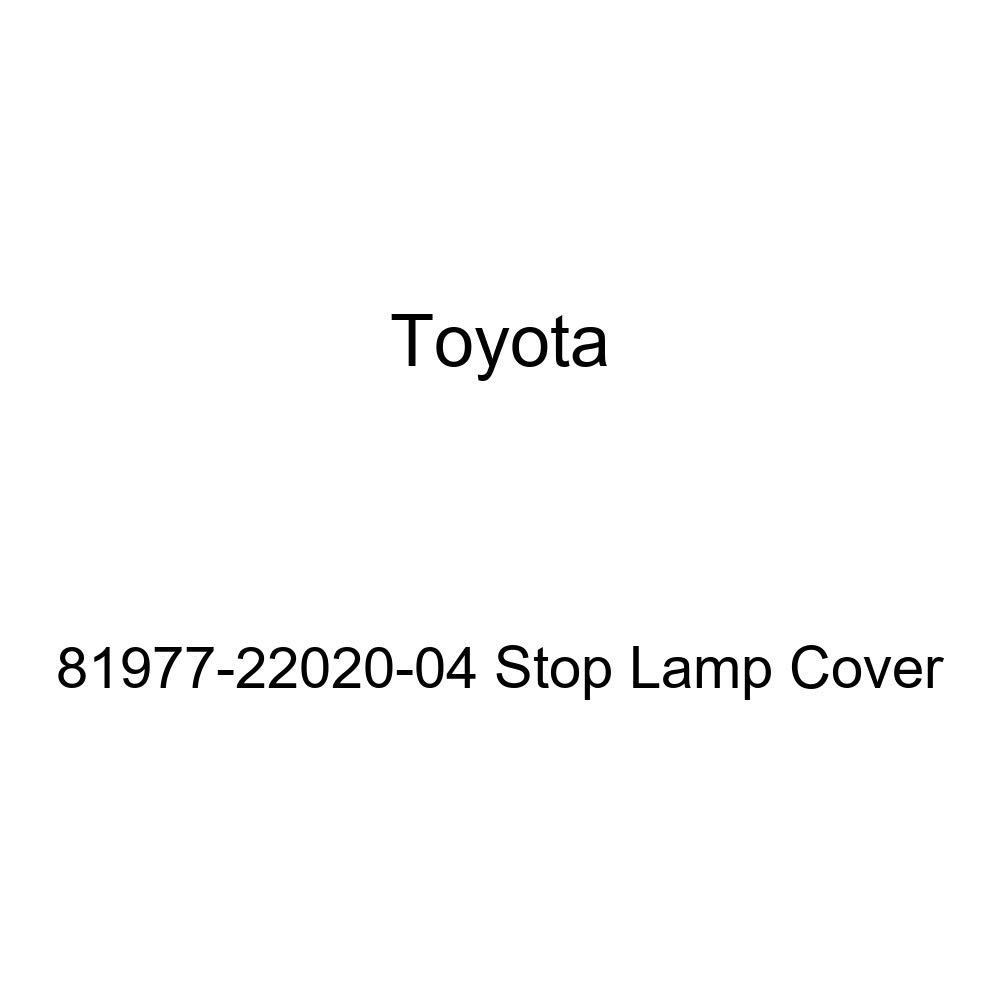 TOYOTA Genuine 81977-22020-04 Stop Lamp Cover