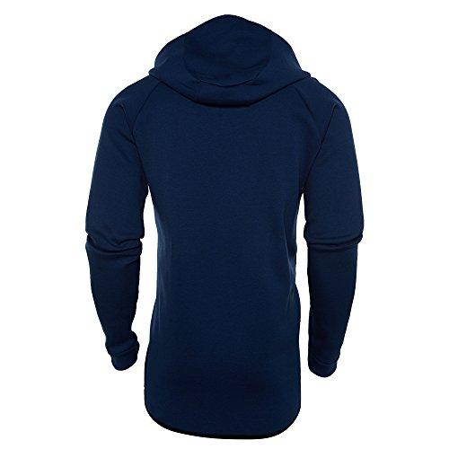 Flc Blue M Coastal WR NSW Black Blue FZ Htr Hoodie Men's Nike TCH wgtwB