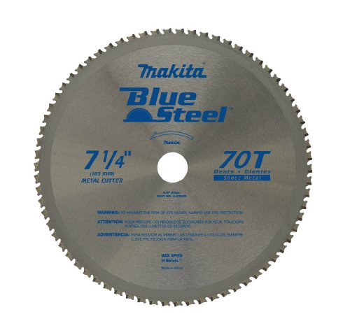 Makita A-93843 7-1/4-Inch 70-Teeth Carbide Metal Cutting Blade