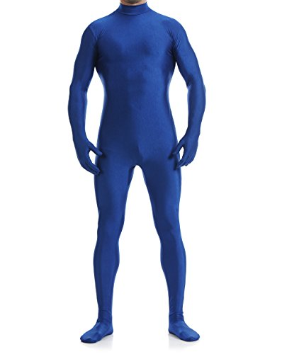 Spandex Lycra Open Face Zentai Suit Full Bodysuit Unitard Halloween - Suit Men Lycra