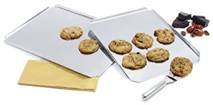 Norpro 14 Inch x 12 Inch Stainless Steel Cookie Sheet 3861