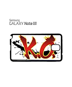 K.O. KnockOut Boxing Mobile Cell Phone Case Samsung Note 3 White by mcsharks
