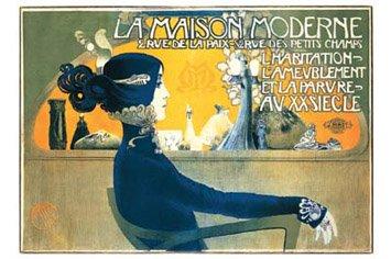 (24x36) Manuel Orazi (La Maison Moderne) Art Poster (24