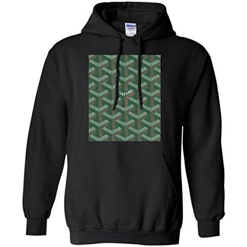 goyard-t-shirt-hoodie-shirt-xxl-black