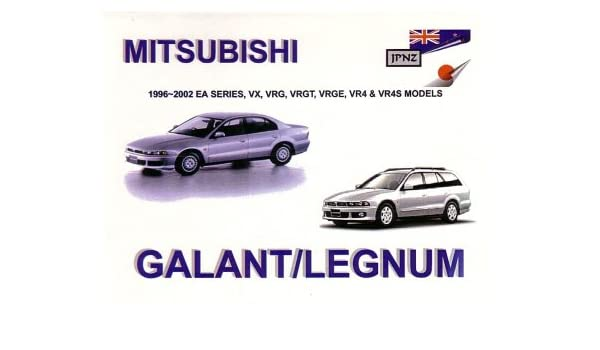 mitsubishi galant legnum 96 02 owners handbook 9781869760816 amazon com books amazon com