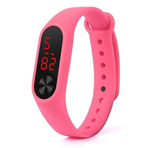 Replacement TPU Wrist Band for Xiaomi MI Band (Pink) - 3