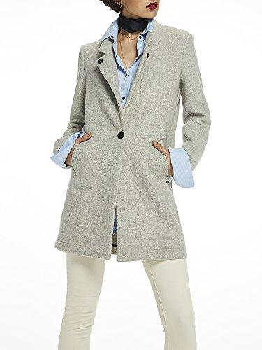 Grey Melange Blouson Femme Scotch Wool Bonded amp; 0a Coat Soda Gris znwzZ8TqXx