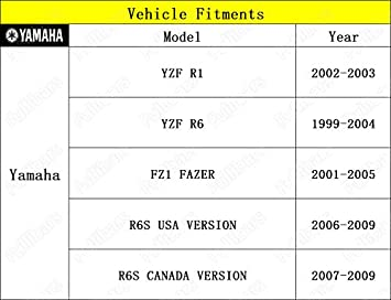 3D leve frizione e freno set per R1 2002-2003//R6 1999-2004//FZ1 FAZER 2001-2005 R1 R6 leve frizione freno Rosso