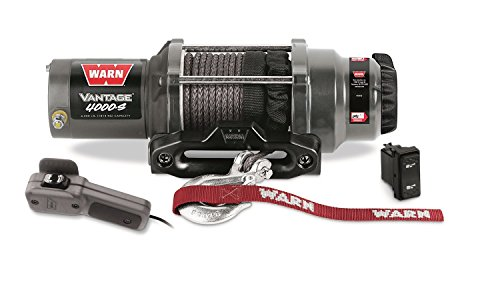 Warn 89041 Vantage 4000-S Winch - 4000 lb. Capacity by Warn