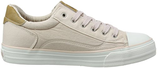 Beige Red Low WoMen Sneakers 301 555 Beige 44 Top Mustang 1272 UK 555 Rose 5 AI0nwqCd7