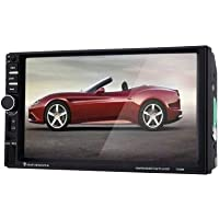 7060B 7 Car Audio Stereo MP5 Player Black with Remote Control Rearview Camera for Car DVD Player