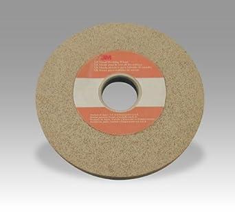 1 in Thickness 3M XR-WM Aluminum Oxide Deburring Wheel 8 in Diameter 33075 Very Fine Grade 3 in Center Hole PRICE is per WHEEL Arbor Attachment