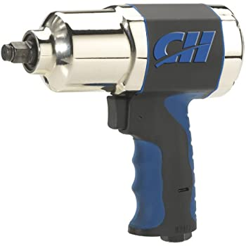 "Air Impact Wrench - Twin Hammer 1/2"" Impact Driver w/ Composite Body and Comfort Grip (Campbell Hausfeld TL140200AV)"