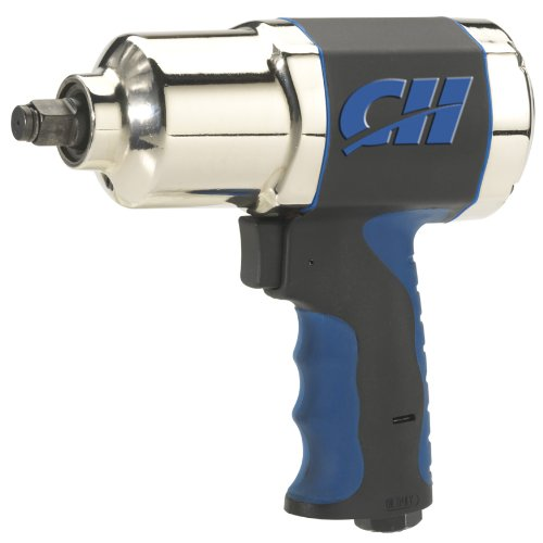 Air Impact Wrench – Twin Hammer 1/2″ Impact Driver w/ Composite Body and Comfort Grip (Campbell Hausfeld TL140200AV)