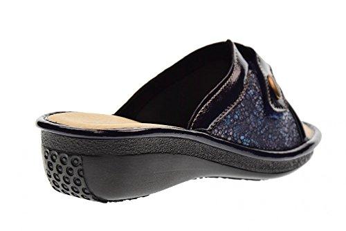 Valleverde 37205 Blue Pantoffeln Frau Blau