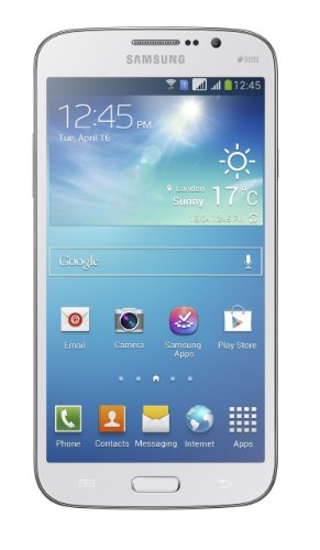 Samsung Galaxy Mega 5.8 I9152 8GB Unlocked GSM Dual-SIM Android Smartphone- White (Mega Unlocked Cell Phones 2)