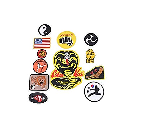 Full Cobra Kai Patches Set of 12