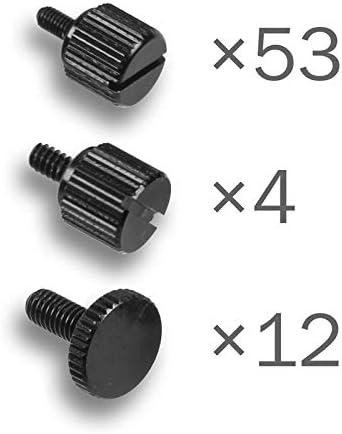 DimasTech BT190Benchtable easyxl Thumbscrews Kit Negro